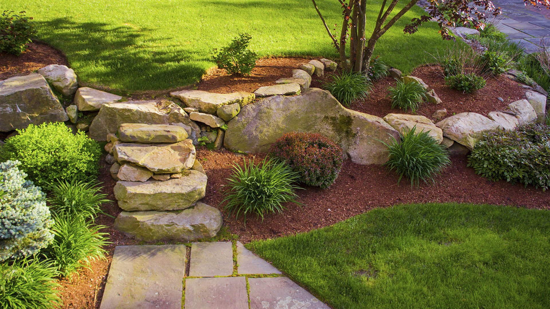 Landscape Carolina Landscaping, Lawn Maintenance and Hardscaping slide 3